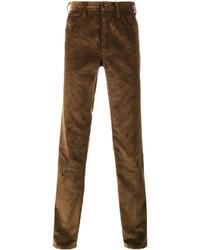 Prada Contrast Pocket Corduroy Trousers