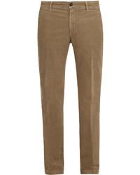 Massimo Alba Straight Leg Corduroy Trousers
