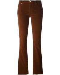 7 For All Mankind Corduroy Flared Trousers