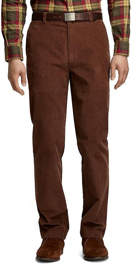 Brooks Brothers Clark 14 Wale Corduroy Pants | Where to buy & how ...