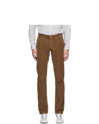 PRESIDENTs Brown Corduroy Icarus Trousers