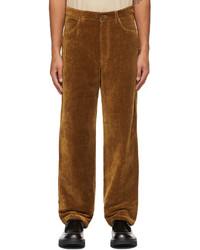 Jacquemus Brown La Montagne Le Pantalon Velours Trousers