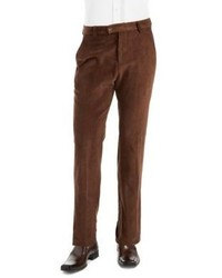 Black Brown 1826 Cotton Corduroy Dress Pants