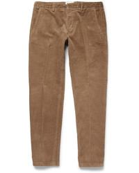 Ami Slim Fit Cotton Corduroy Trousers
