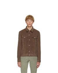 Paul Smith Brown Corduroy Tailored Work Blazer
