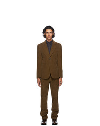 Maison Margiela Brown Corduroy Suit