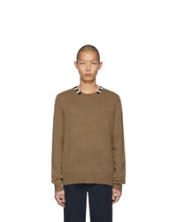 Burberry Beige Cashmere Noland Sweater