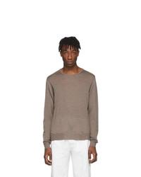 Maison Margiela Brown Wool Sweater