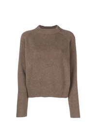 The Row Cashmere Ribbed Design Jumper