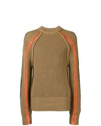 Maison Margiela Chunky Knit Crew Neck Sweater