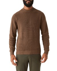 Frank and Oak Cotton Crewneck Sweater