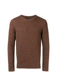Dell'oglio Melange Knit Sweater