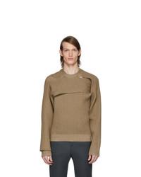 Bottega Veneta Tan Rib Sweater