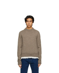 Maison Margiela Taupe Sweater
