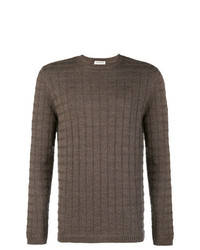 Al Duca D'Aosta 1902 Textured Crew Neck Sweater
