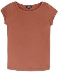 A.P.C. Short Sleeve T Shirt