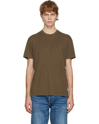 Tom Ford Brown Jersey T Shirt