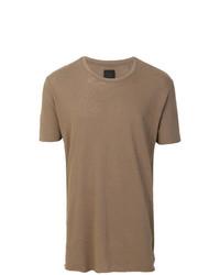 Thom Krom Contrast Stripe Detail T Shirt
