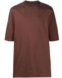 Rick Owens Panelled Jersey T Shirt