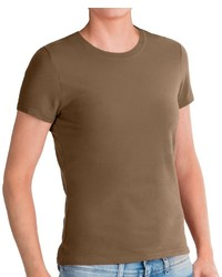 Specially Made Stretch Cotton T Shirt Short Sleeve