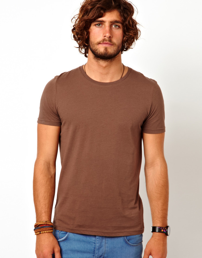 ... Asos T Shirt With Crew Neck