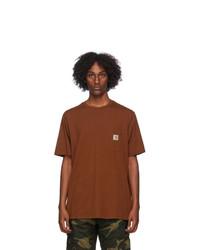 CARHARTT WORK IN PROGRESS Tan Pocket T Shirt