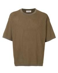 Cerruti 1881 Textured Crew Neck T Shirt