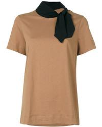 Tied neck t shirt medium 6860917