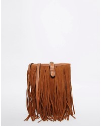 Vero Moda Cross Body Bag With Fringing