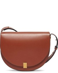 Half moon box shoulder bag brown medium 963648