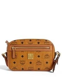 MCM Small Heritage Crossbody Bag Brown