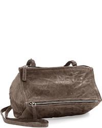 Givenchy Pandora Mini Pepe Crossbody Bag Charcoal