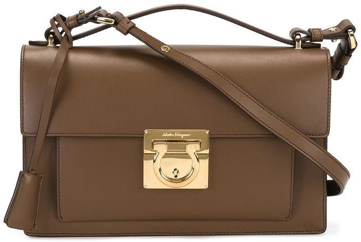 9bde65215cb5 Aileen Crossbody Bag. Brown Crossbody Bag by Salvatore Ferragamo