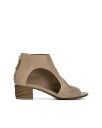 Marsèll Cut Out Side Ankle Boots