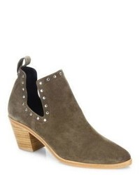 Lana studded cutout suede booties medium 1140290