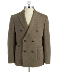 Black Brown 1826 Double Breasted Blazer