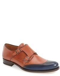 Mezlan Riviera Double Monk Strap Shoe