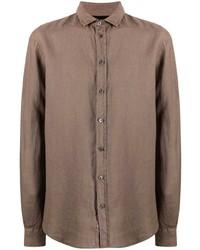 Emporio Armani Plain Button Down Shirt