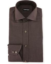 Tom Ford Slim Fit Pin Dot Dress Shirt