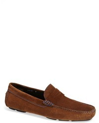 Brown driving shoes original 553554