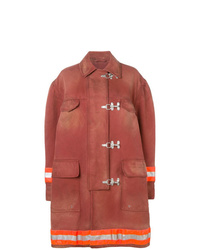 Calvin Klein 205W39nyc Couture Sleeve Fireman Coat