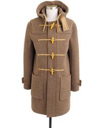 J.Crew Harbour Duffle Coat In English Wool