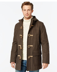 Tommy Hilfiger Wool Blend Melton Toggle Coat | Where to buy & how ...