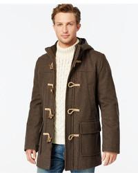 Tommy Hilfiger Wool Blend Melton Toggle Coat