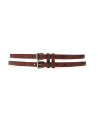 Brunello Cucinelli Bead Embellished Leather Belt