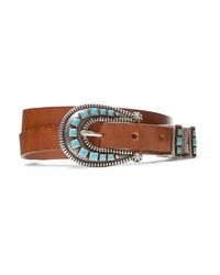 Alanui Embellished Leather Belt