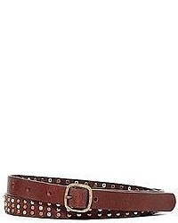 jcpenney Skinny Studded Belt