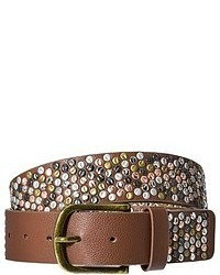 Mossimo Supply Co All Over Small Studs Belt Brown