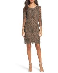 Petite embellished sheath dress medium 4913915