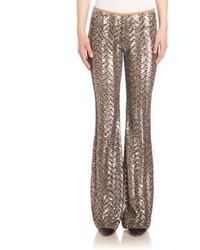 Michael Kors Michl Kors Collection Sequin Embellished Pants